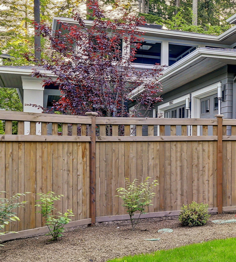 Privacy fence in Armada